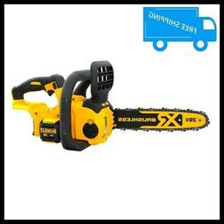 20V MAX Lithium Ion Cordless Chainsaw Brushless Battery Powe