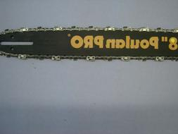 """18"""" Poulan Pro Chainsaw Bar and 18"""" Chain"""