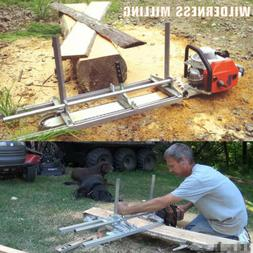 """2020 Portable Chain saw mill 24"""" Inch Planking Milling Bar S"""