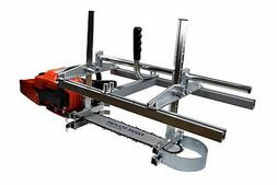 24 Inch Portable Chainsaw Mill Log Planking Lumber Cutting 1