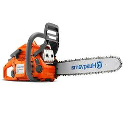 New Husqvarna 435 E-Series Gas Powered X-Cut Low Emission Ch