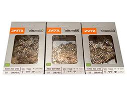 "QTY 5 - Genuine Stihl Oilomatic Chain Saw Chains 16"" 61PMM3-"