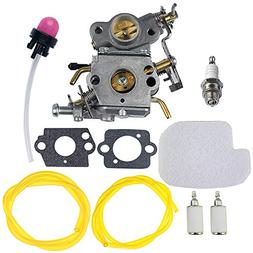 HIPA C1M-W26 Carburetor with 530057925 Air Filter Fuel Line