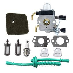 HIPA C1Q-S97 Carburetor with Air Filter Fuel Line Kit for ST