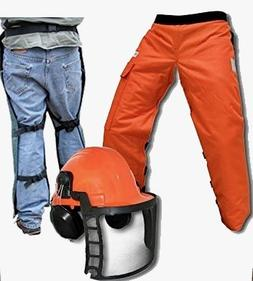 """Forester Chain Saw Safety Chaps 40"""" Leg Plus Deluxe Safety H"""