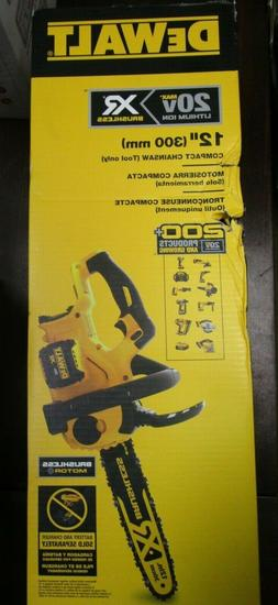 20V Chainsaw Tool Compact Cordless Chain Saw Kit High Effici