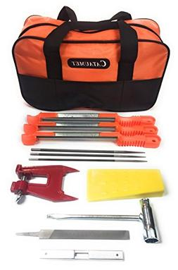 "Cataumet Chainsaw Sharpener File Kit - Includes 5/32"", 3/16"""