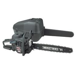 """Craftsman 50cc 20"""" Gas Chain Saw - Case Included"""