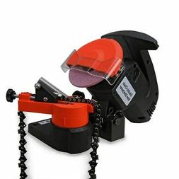 HD PORTABLE ELECTRIC CHAINSAW BENCH GRINDER CHAIN SAW SHARPE