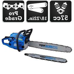 Blue Max Heavy Duty 57cc 18in / 22in Combo Chainsaw