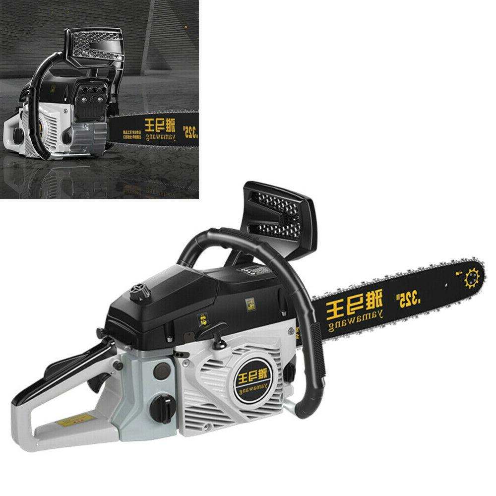 """89cc Chainsaw 20"""" Gasoline Powered Engine Cycle 2.0KW US"""