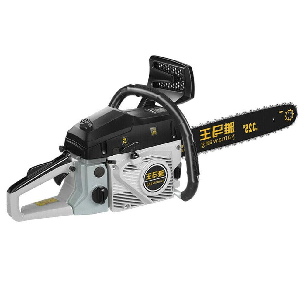 """89cc Chainsaw 20"""" Gasoline Powered Engine 2 Cycle 2.0KW US"""