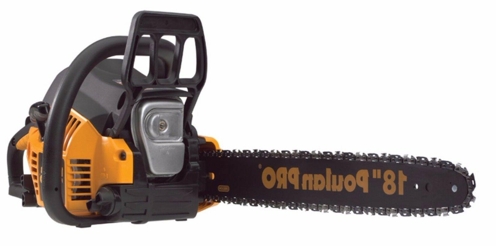 Poulan Pro 967185102 PP4218A 42cc Assembled Chainsaw with Ca