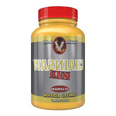 Chainsaw Gold  30 Capsules by Vigor Labs