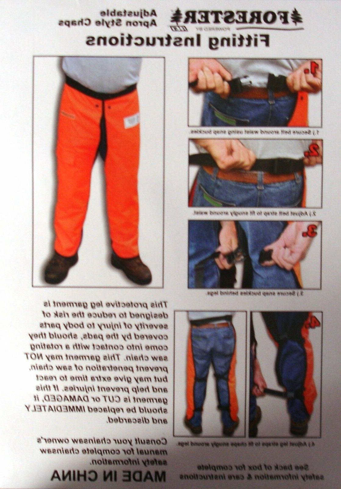 Forester Chainsaw Safety with Pocket, Style