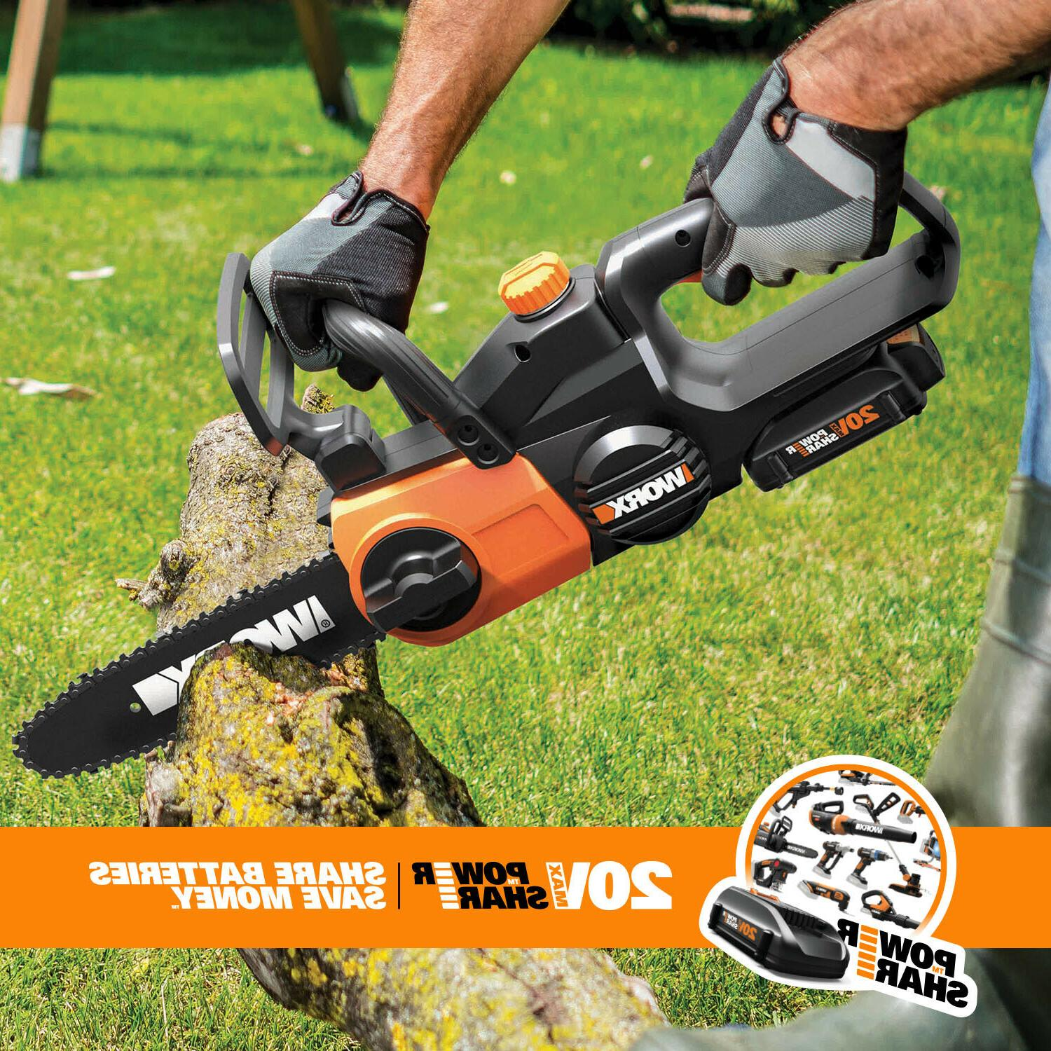 Cordless 20V with Auto-Tension and Battery