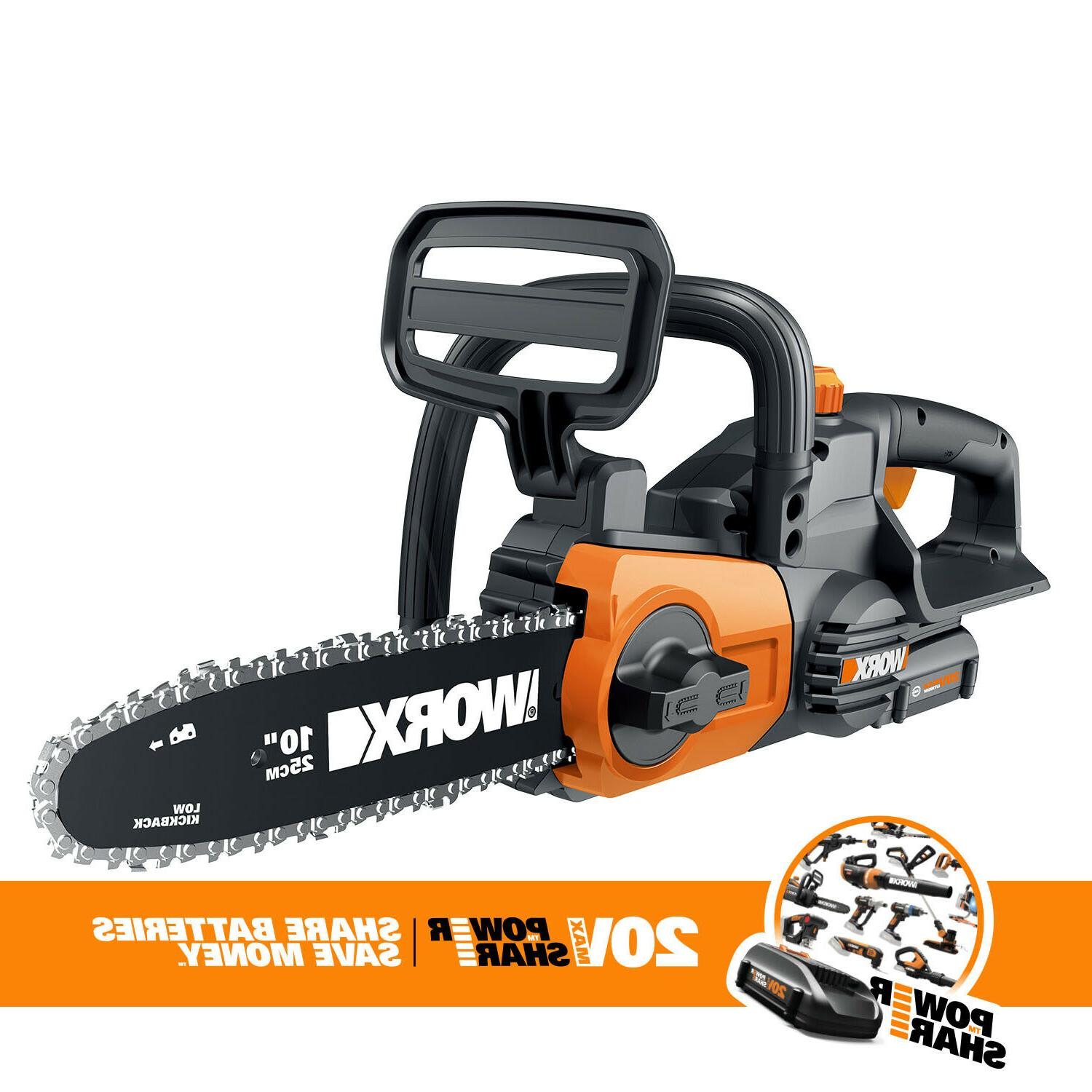 cordless 20v chainsaw with auto tension