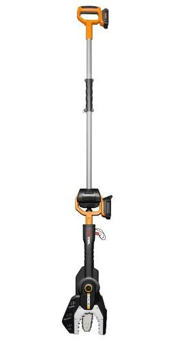 Worx WG321 Cordless Electric Chainsaw with Extension Pole