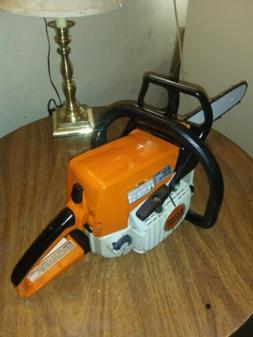 Stihl ms250 chainsaw with 16 inch bar very nice condition