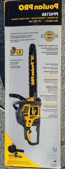 Poulan Pro  Pro PP4218 18 in. 42cc 2-Cycle Gas Chainsaw