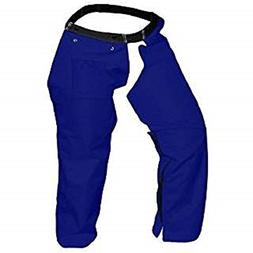 Cold Creek Loggers Protective Trimmer Safety Chaps, Navy Blu